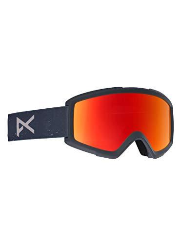 Anon Herren Helix 2.0 with Spare Snowboardbrille Rush/Red Solex