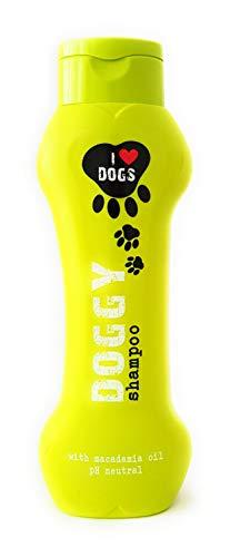 I Love Dogg's Hundeshampoo Mit Macadamia-öl 300ml zur Wohlfühlpflege. Auch für Welpen Empfohlen. Hautfreundlich, Pflegend und Angenehm im Geruch.