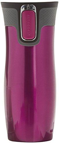 Contigo Trinkflasche West Loop, raspberry, 470 ml, 1000-0095, ohne Logo