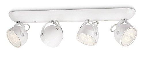 Philips myLiving LED Spotbalken Dyna 4-flammig, weiß