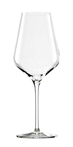Stölzle Lausitz Rotwein Weingläser Quatrophil 568ml, 6er Set Rotweingläser, wie mundgeblasen, spülmaschinenfest, hochwertige Qualität