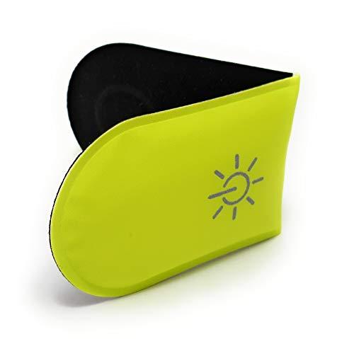LUMILION LumiClip 1 LED Magnet Licht Clip fürs Laufen Joggen Walking | hochwertiges, leichtes Blinklicht/Sicherheitslicht für Kinder und Erwachsene - für bessere Sichtbarkeit