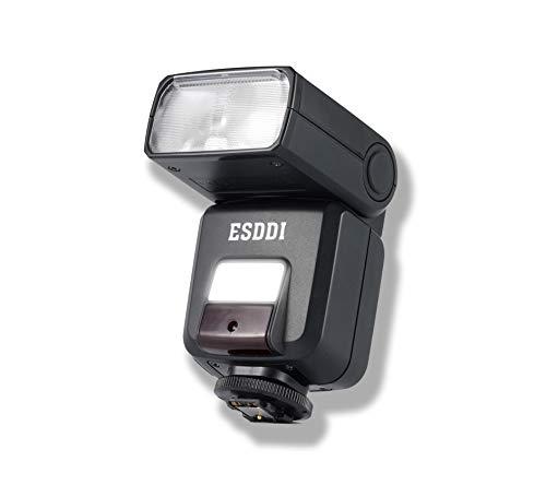 ESDDI Blitzgeräte für Sony 2,4G HSS 1/ 8000s TTL Blitz für Sony Micro Single-Kamera A7 A7II NEX6 A6000 A6300 A6500 mit Standard Blitzschuh