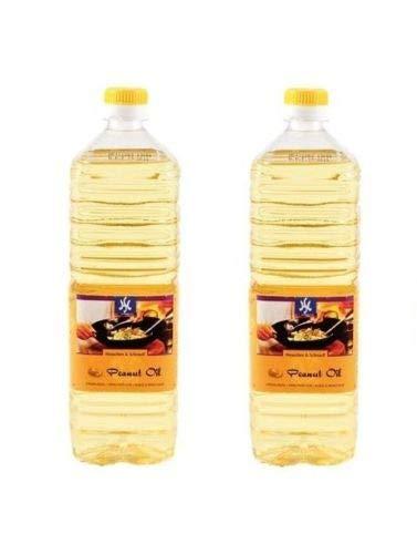 Pamai Pai Doppelpack: 2 x 1 Liter reines Erdnussöl Erdnußöl Peanut Oil Erdnuss Öl Holland
