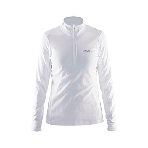 Craft Swift Zip W Damen Skipullover Skirolli 1904605-2920 White/Platinum - Damen M