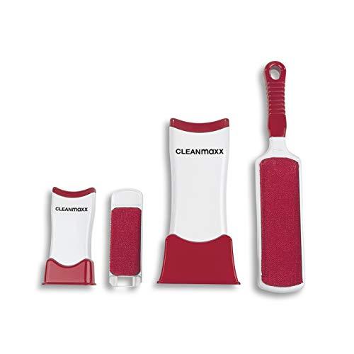CLEANmaxx Fusselbürsten-Set Fusselschreck 2er Set. | Fusselrasierer für Verschiedene Stoffe | Fusselbürste für Unterwegs