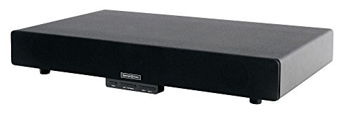 Bennett & Ross Moviebase 2.1 Soundbase mit USB-Slot und Bluetooth (belastbar bis 35 kg, 36 Watt RMS, inkl. Fernbedienung, AUX- und Stereo-Kabel) schwarz