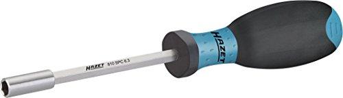 HAZET Bit-Halter (für 6,3 mm (1/4 Zoll)-Bits, mit starkem Magneten, rutschfester Griff für hohe Kraftübertragung) 810SPC-6.3