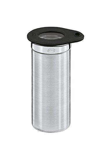 Rösle 16551 Dose mit Frischhaltedeckel, Durchmesser 5 cm, Höhe 6 cm