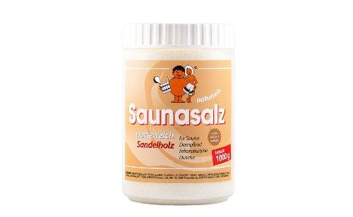 Saunasalz Salinensalz 'Sandelholz' - watteweich