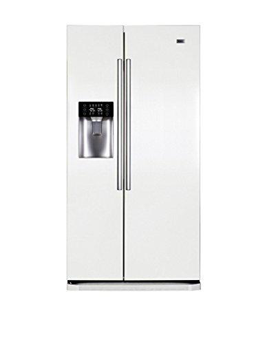 Haier HRF-628IW6 Wasserspender und Ice Crusher, A+, 179 cm, 420 kWh/Jahr, 375 L Kühlteil, 175 Gefrierteil, weiß