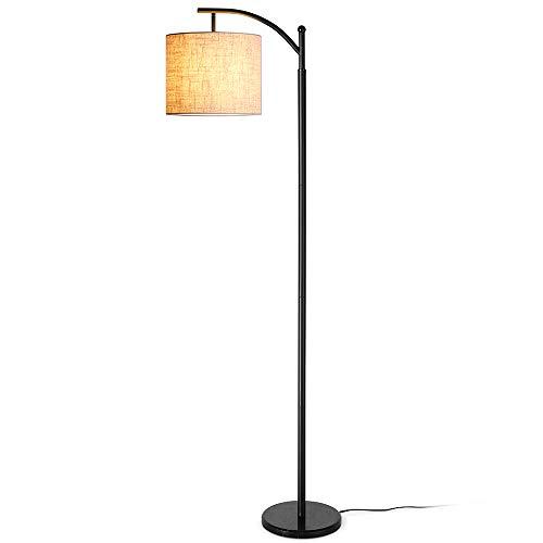 Stehlampe Wohnzimmer, Zanflare moderne LED Stehleuchte, Classic Arc Standleuchte, verstellbares Stimmungslicht, wirtschaftliche Stehlampe mit langer Lebensdauer für Wohnzimmer, Schlafzimmer, Büro