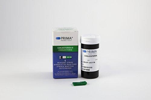 5 x Cholesterin Test Streifen für PRIMA 2in1/3in1 - 5 Streifen
