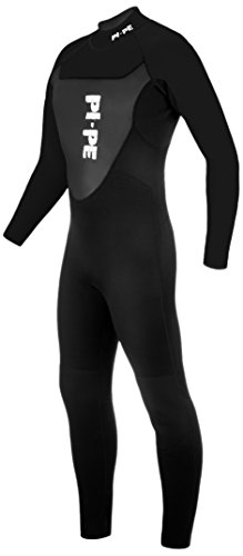 PI-PE Herren Neoprenanzug Active Full Long Sleeve, Black, XL, PNA-2-S