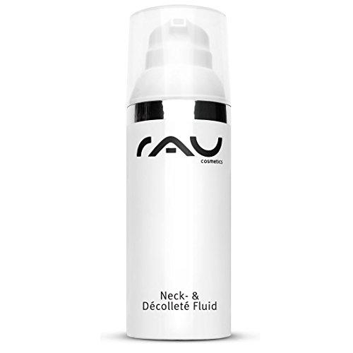 RAU Neck & Dekollete Fluid 50 ml - Revitalisierende Creme für Hals und Dekolleté - Feuchtigkeit, Straffung und Pflege