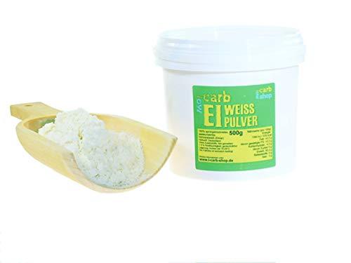 -Carb Eipulver, Eiweißpulver aus 100% Eiklar (500 g)