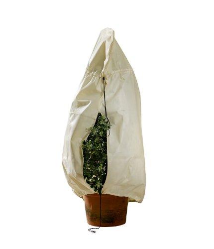 Bio Green Winterschutz Kübelpflanzensack, beige, superstark, XXL 180 x 120 cm