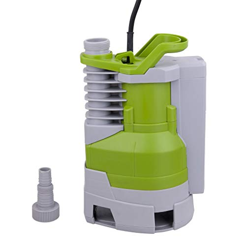 Krispich Filterpumpe Bachlaufpumpe 8000L/h 70W Teichpumpe Energiespar Wasserpumpe Gartenpumpe Brunnenpumpe für Garten, Teich, Brunnen, Aquarium