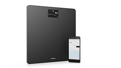 Nokia Body - BMI-WLAN-Körperwaage, schwarz