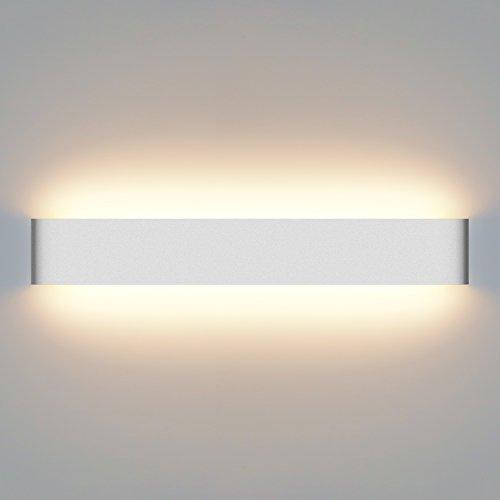 Yissvic Wandleuchte spiegelleuchte 20W LED Wandlampe Badlampe Wasserdicht IP44 Warmweiß MEHRWEG