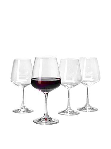 Villeroy & Boch Ovid Rotweinglas-Set 4-teilig Kristall