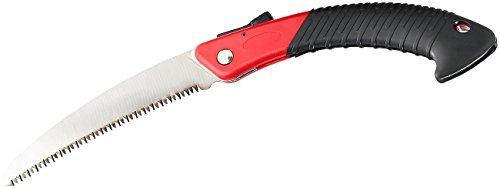 AGT Säge: Hand-Klappsäge WKS-180 aus Carbonstahl mit Trapez-Verzahnung, 180 mm (Handsäge)