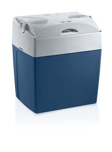 MOBICOOL V30 AC/DC  -  elektrische Kühlbox, anschlussfertig für 12 und 230 Volt, Fassungsvermögen 29 Liter, Mini-Kühlschrank für Auto und Steckdose, A++