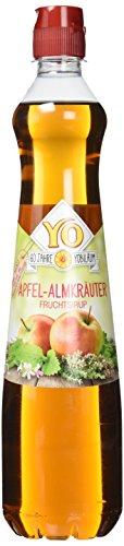 Yo Sirup Apfel-Almkräuter, 6er Pack (6 x 700 ml)