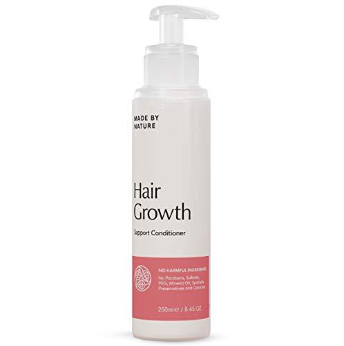 Haarwuchs fördernde Haarspülung - MADE BY NATURE Kräftigende Haarspülung - Tiefenbehandlung für geschädigtes Haar - Ganz natürliche Formel ohne Parabene, Sulfate & Konservierungsmittel