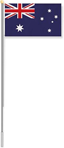 normani Fahnenmast 6,80 oder 7,50 Meter Höhe mit verschiedenen Flaggen zur Auswahl