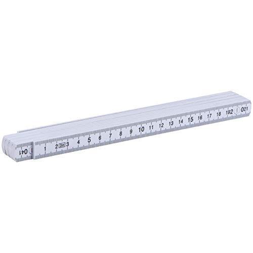 Zollstock / Gliedermaßstab / 2m / aus Kunststoff