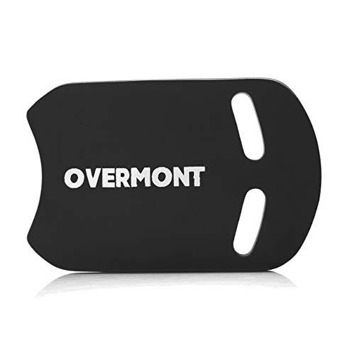 Overmont Schwimmen Kickboard Schwimmbrett Eva zum Schwimmenlernen Trainieren Spielen für Kinder und Erwachsene Blau/Schwarz