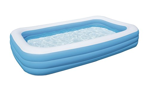Bestway Family Pool 'Blue Rectangular Deluxe', 305x183x56cm
