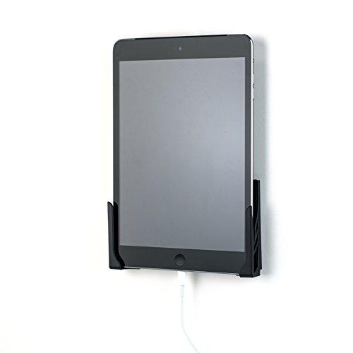Dockem Koala Tablet Wandhalterung 2.0; Universal; Beschädigungsfreies Klebstoffe oder Schraube; für Smartphone iPad, Air, Mini, Pro, Samsung Galaxy Tab/Note, Microsoft Oberfläche (schwarz)
