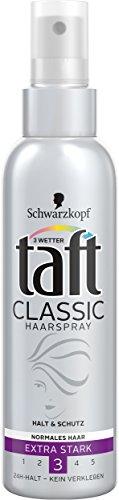 Schwarzkopf 3 Wetter Taft Classic Haarspray Pumpzerstäuber, 3er Pack (3 x 150 ml)
