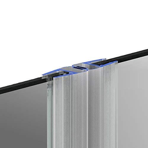 200cm M12 -- DUSCHDICHTUNG Magnetdichtung für 5mm/ 6mm/ 8mm Glasstärke Wasserabweiser Duschdichtung DPD Schwallschutz Duschkabine Magnetduschdichtung .one-bath