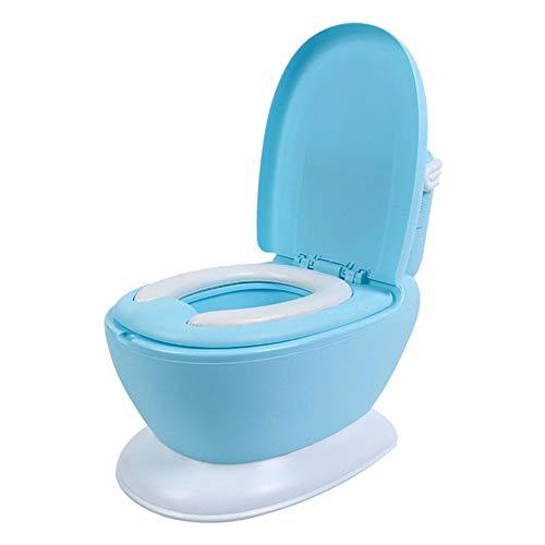 myonly Extra großer Kinder-Toilettentöpfchen für Kleinkinder, Baby-Töpfchen, Toilettentraining, Toilettentraining für Babys und Kleinkinder, für Mädchen und Jungen blau