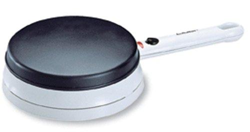 Cloer 677 Crêpe-Maker-Cordless für hauchdünne Crêpes / 700 W / Backfläche mit 18,5 cm Durchmesser