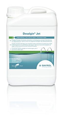 BAYROL Desalgin Jet - Schaumfreies Algizid - Hochkonzentriert, ohne Chlor und mit Klareffekt - Verhindert Algenwachstum im Pool - 3 L