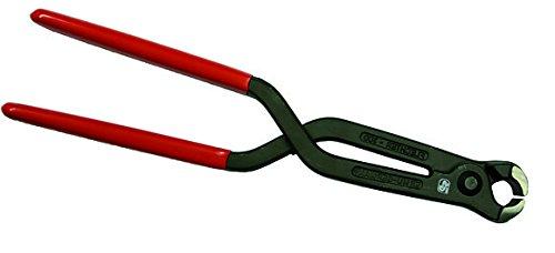 Handliche Fliesen Spezial Zange zum Brechen von Fliesen Eisenflechter Zange 295 mm lang Kopfbreite 24 mm