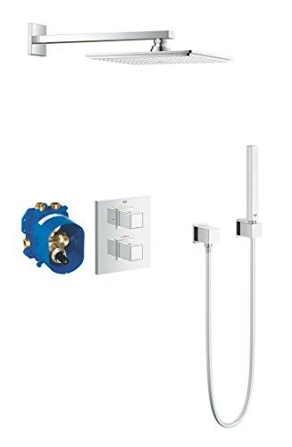 GROHE Cube | Brause- und Duschsysteme - Duschsystem | Komplettset mit Kopfbrause | 34506000