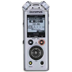 Olympus LS-P1 PCM Music & Voice Recorder, 4 GB Speicher, microSD Slot, USB-Direct