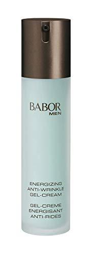 Babor BABOR MEN Anti Wrinkle Face & Eye Energizer, schnell einziehende Gel-Creme für Gesicht und Augenpartie, vitalere Haut, zur täglichen Anwendung, 50ml