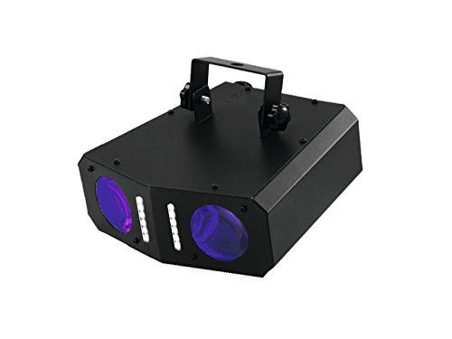 Eurolite LED DMF-2 Hybrid Flowereffekt   Lichteffekt mit doppel Matrix-Projektion   Effektstrahler mit Stroboskopeffekt   Musiksteuerung über eingebautes Mikrofon