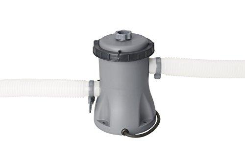 Bestway Flowclear Filterpumpe 1.249 l/h 220-240V~/50Hz, Trafo 12V Kl.3, 23W, TÜV/GS