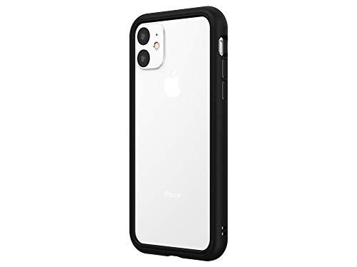 RhinoShield Bumper Case für iPhone 11 CrashGuard NX - Schockabsorbierende Dünne Schutzhülle 3.5 Meter Fallschutz - Schwarz