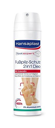 Hansaplast Fußpilz-Schutz 2-in-1 Deo, 4er Pack (4 x 150 ml)