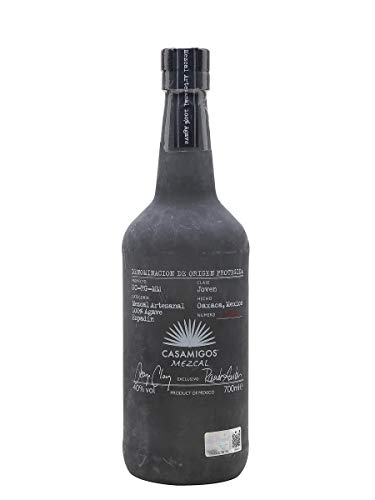 Casamigos Mezcal Joven Blanco, Premium Mezcal aus 100% Agave (1 x 0.7 l)