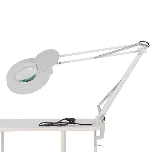 MVPower 22W Kaltlicht Lupenleuchte Tisch-Lupenlampe Arbeitsleuchte Lupe Vergrösserungslampe Kosmetik 5 Dioptrien/ 8 Dioptrien (8 Dioptrien)