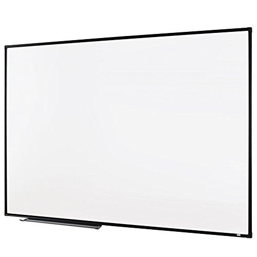 Lockways Whiteboard - Magnetisch Stabil Praktische - Weißtafel 60 x 90 cm schwarz Aluminiumrahmen für Schule, Wohnung und Büro